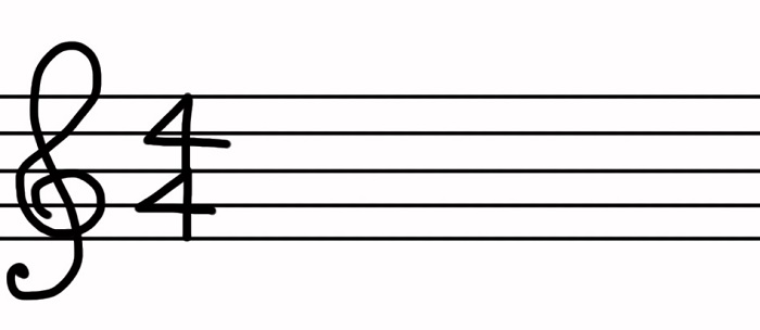 コード練習時間 拍子記号