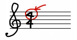コード楽譜 4拍子